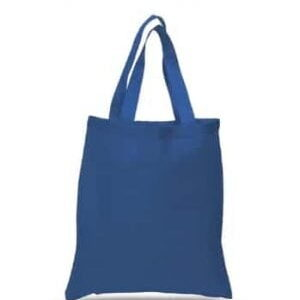 blue cotton totes