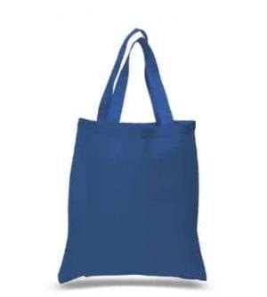blue cotton totes